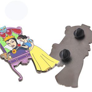 Cartoon figure anime Soft enamel 3D custom metal lapel pin