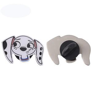 Dalmatian printing pin for girl