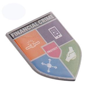 Custom Cool International United Nations Shoulder printing Badge For Uniforms Outwear