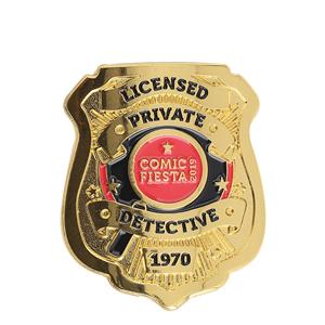police metal badge