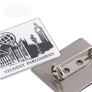 Customization logo enamel lapel pin letter badge