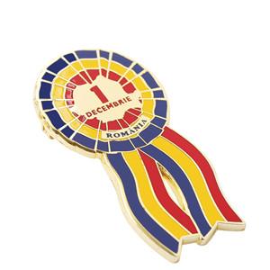 Customized Color Imitation Enamel Paint Company Enterprise Badge Brooch (3)