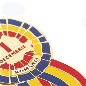 Customized Color Imitation Enamel Paint Company Enterprise Badge Brooch (5)