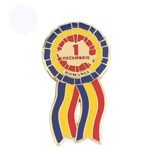 Customized Color Imitation Enamel Paint Company Enterprise Badge Brooch