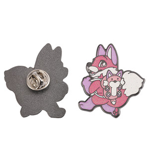 cute fox pins