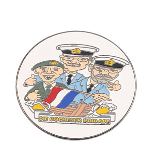 Russian sailor customized logo commemorative badge