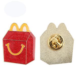 mcdonalds takeaway box pin