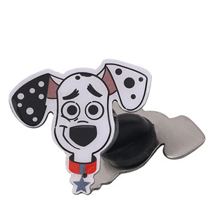 dog Package Icon Clothing Decorative cartoon enamel Lapel Pin