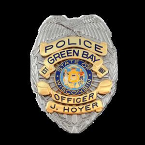 Green Bay Police Badge