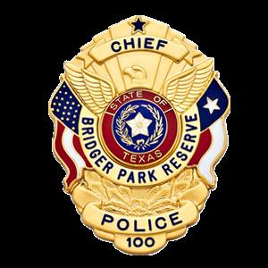 bridger park reserve police badge