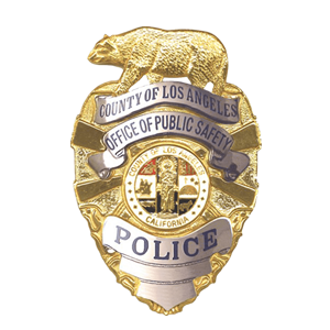 county of los angeles police pins