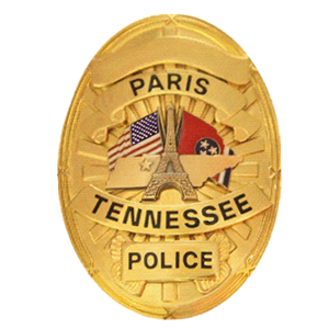 paris tennessee police lapel pins