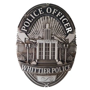whittier police officer pins